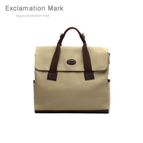 [익스클라메이션마크 ExclamationMark] E048-beige / BACKPACK / CROSS BAG / TOTE BAG