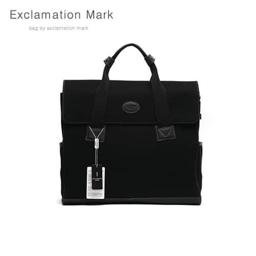 [익스클라메이션마크 ExclamationMark] E048-black / BACKPACK / CROSS BAG / TOTE BAG