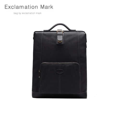 [익스클라메이션마크 ExclamationMark] E059-Black / BACKPACK