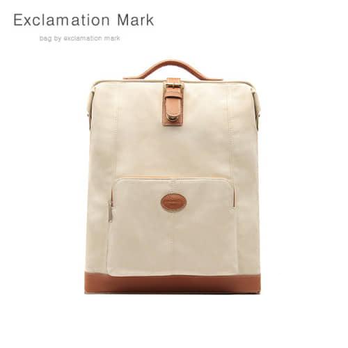 [익스클라메이션마크 ExclamationMark] E059-ivory / BACKPACK