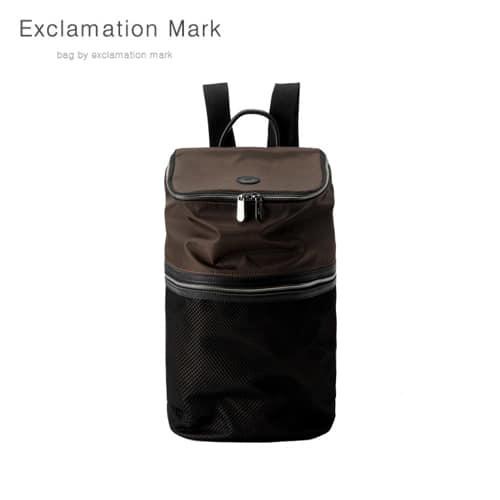 [익스클라메이션마크 ExclamationMark] E068-brown / BACKPACK