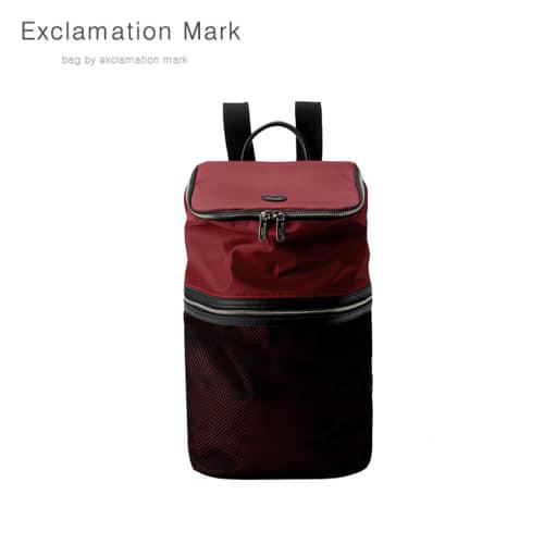 [익스클라메이션마크 ExclamationMark] E068-red / BACKPACK