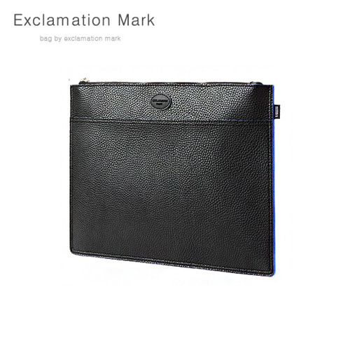 [익스클라메이션마크 ExclamationMark] E072-black / CLUTCH BAG