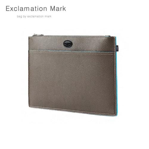 [익스클라메이션마크 ExclamationMark] E072-gray / CLUTCH BAG