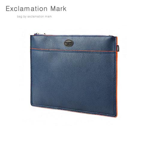 [익스클라메이션마크 ExclamationMark] E072-navy / CLUTCH BAG