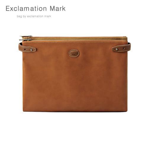 [익스클라메이션마크 ExclamationMark] E074-brown / CLUTCH BAG