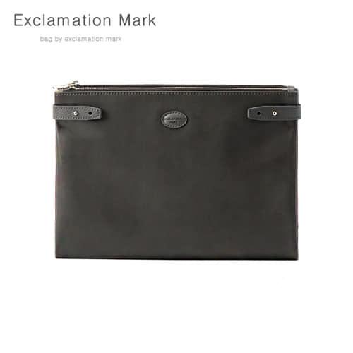 [익스클라메이션마크 ExclamationMark] E074-gray / CLUTCH BAG