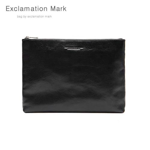 [익스클라메이션마크 ExclamationMark] E076-black / CLUTCH BAG