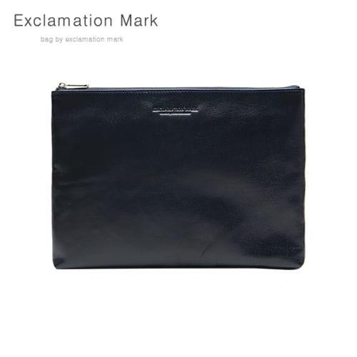 [익스클라메이션마크 ExclamationMark] E076-navy / CLUTCH BAG