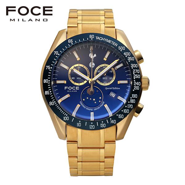 [포체 FOCE] FT2701GBU 토트넘 Tottenham  신상 입고 남성용 메탈 시계 크로노그레프 문페이즈 45.5mm