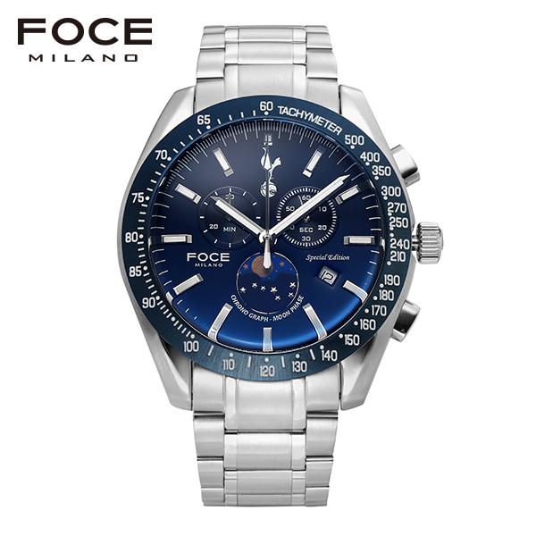 [포체 FOCE] FT2701WBU 토트넘 Tottenham  신상 입고 남성용 메탈 시계 크로노그레프 문페이즈 45.5mm