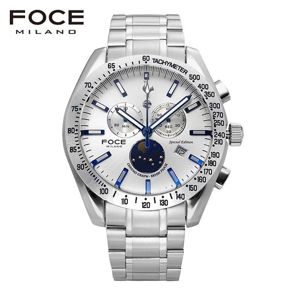 [포체 FOCE] FT2701WH 토트넘 Tottenham  신상 입고 남성용 메탈 시계 크로노그레프 문페이즈 45.5mm