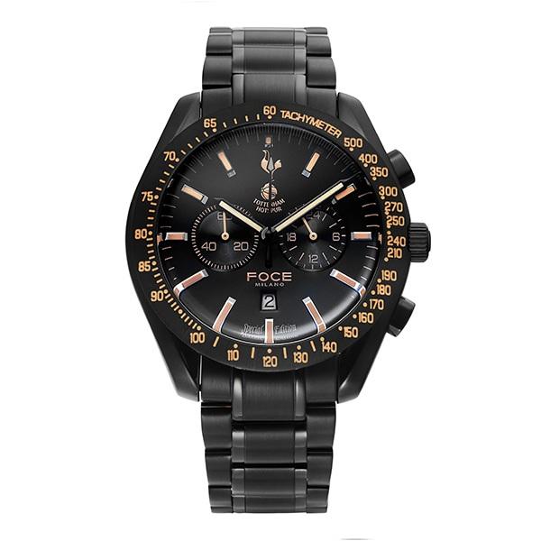 [포체 FOCE] FT2703BBG 토트넘 Tottenham  신상 입고 남성용 메탈 시계 크로노그레프 45.5mm