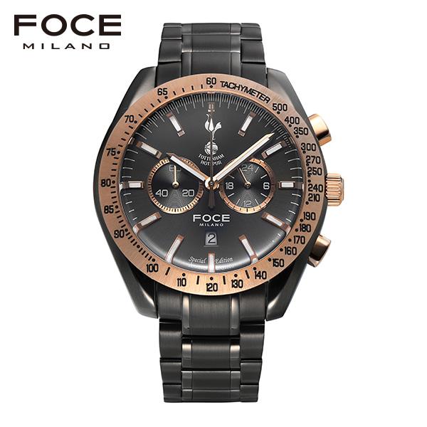 [포체 FOCE] FT2703GYR 토트넘 Tottenham  신상 입고 남성용 메탈 시계 크로노그레프 45.5mm