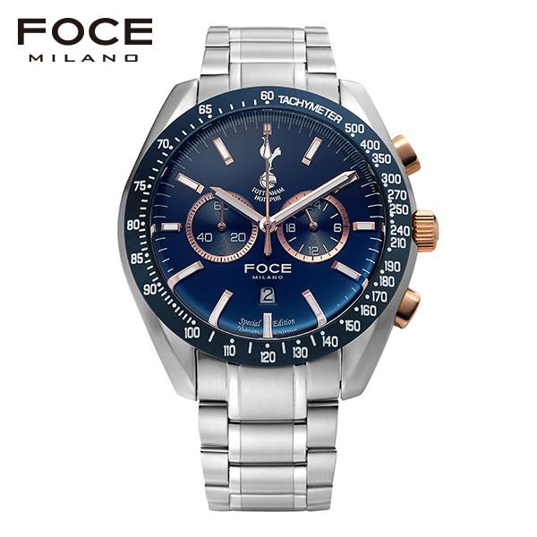 [포체 FOCE] FT2703WBUR 토트넘 Tottenham  신상 입고 남성용 메탈 시계 크로노그레프 45.5mm