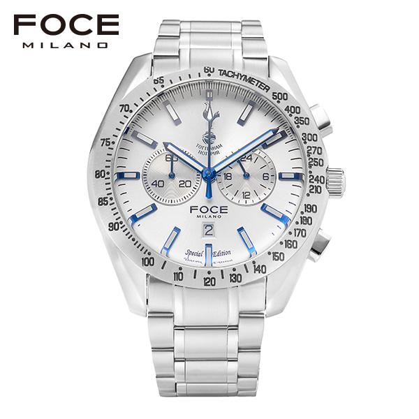 [포체 FOCE] FT2703WH 토트넘 Tottenham  신상 입고 남성용 메탈 시계 크로노그레프 45.5mm