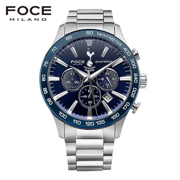 [포체 FOCE] FT2705BU 토트넘 Tottenham 신상 입고 남성용 메탈 시계 크로노그래프 44mm