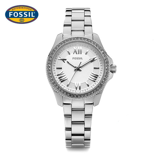 5월-) [파슬시계 FOSSOIL] AM4576 / Ladie Cecile Silver Watch 29.5mm