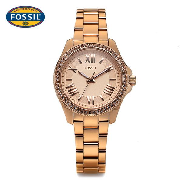 5월-) [파슬시계 FOSSOIL] AM4578 / Ladie Cecile Rose Gold Watch 29.5mm