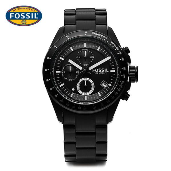 [파슬시계 FOSSOIL] CH2601 / Mens Decker Black 42.5mm