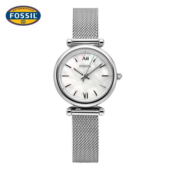 [파슬시계 FOSSIL] ES4432 / Carlie 칼리 여성용 매쉬밴드 시계 28mm 타임메카