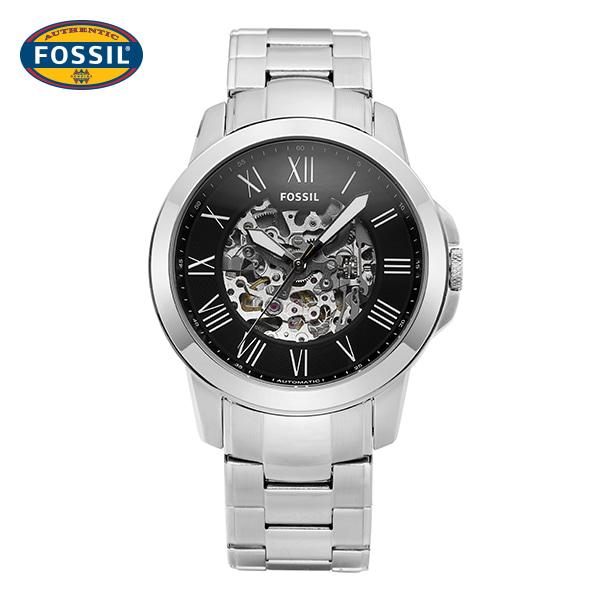 [파슬시계 FOSSIL] ME3103 / Skeleton 스켈레톤 오토매틱 남성용 메탈시계 45mm 타임메카
