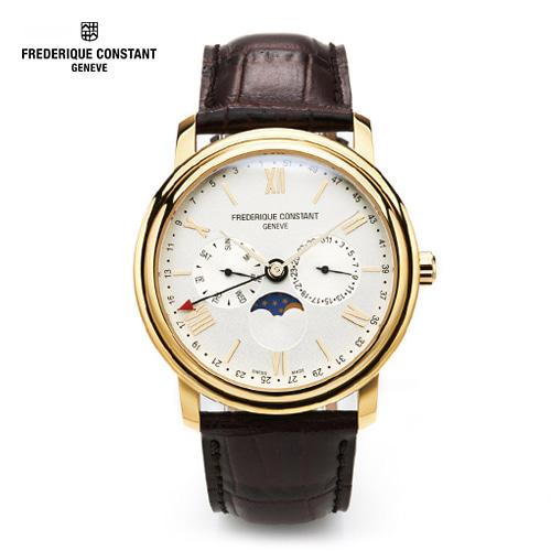 [프레드릭콘스탄트시계] FC-270SW4P5 클래식 문페이즈 40mm [한국본사정품] 울프 시계보관함 증정