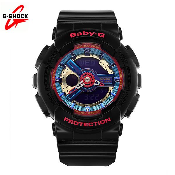 [지샥시계 G-SHOCK] BA-112-1A / 베이비지 핑크블랙 소녀시대 시계