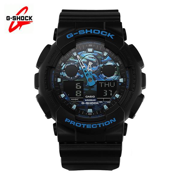 [지샥시계 G-SHOCK] GA-100CB-1A / 빅페이스 블루