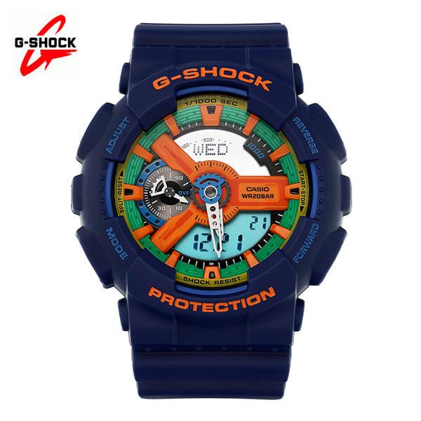 [지샥시계 G-SHOCK] GA-110FC-2A / 빅페이스 크레이지 블루