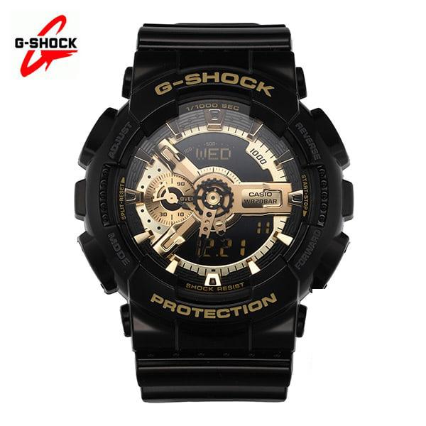 5월-) [지샥시계 G-SHOCK] GA-110GB-1A / 빅페이스 흑금