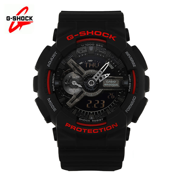 [지샥시계 G-SHOCK] GA-110HR-1A / 빅 페이스 Black&Red