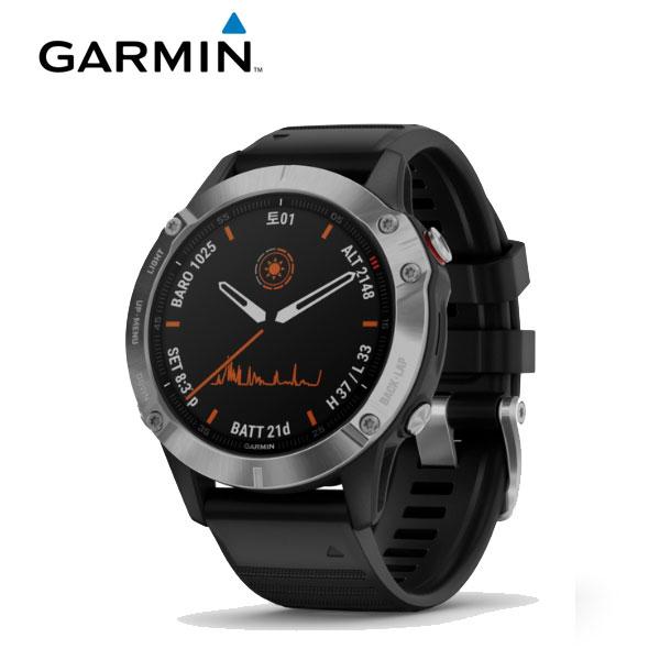 [가민 Garmin] Fenix 6 Sapphire Gray / 피닉스 6 사파이어 그레이 GPS 스마트워치 47mm 타임메카