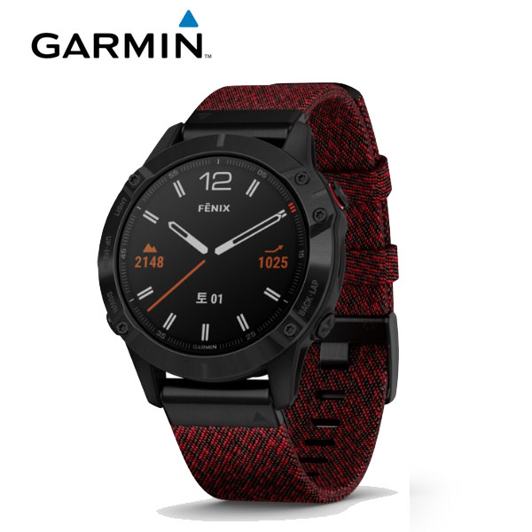[가민 Garmin] Fenix 6 Sapphire Black  / 피닉스 6 사파이어 블랙 GPS 스마트워치 47mm 타임메카