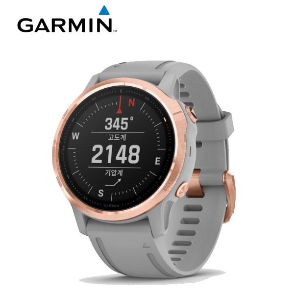 [가민 Garmin] Fenix 6S Sapphire RoseGold / 피닉스 6S 사파이어 로즈골드 GPS 스마트워치 42mm 타임메카