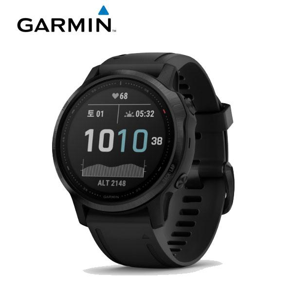 [가민 Garmin] Fenix 6S / 피닉스 6S 사파이어 카본그레이 GPS 스마트워치 42mm 타임메카