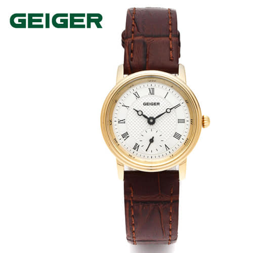 [가이거시계 GEIGER] GE1137L-BR 커플시계 한정수량 한정판매 딱 5개 / 여성용 쿼츠 20mm