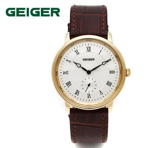 [가이거시계 GEIGER] GE1137M-BR 커플시계 한정수량 한정판매 딱 5개 / 남성용 쿼츠 38mm