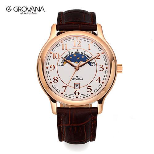 [그로바나시계 GROVANA] 1026.1563 / 남성시계 39mm ( 커플시계 구매시 사은품증정 )