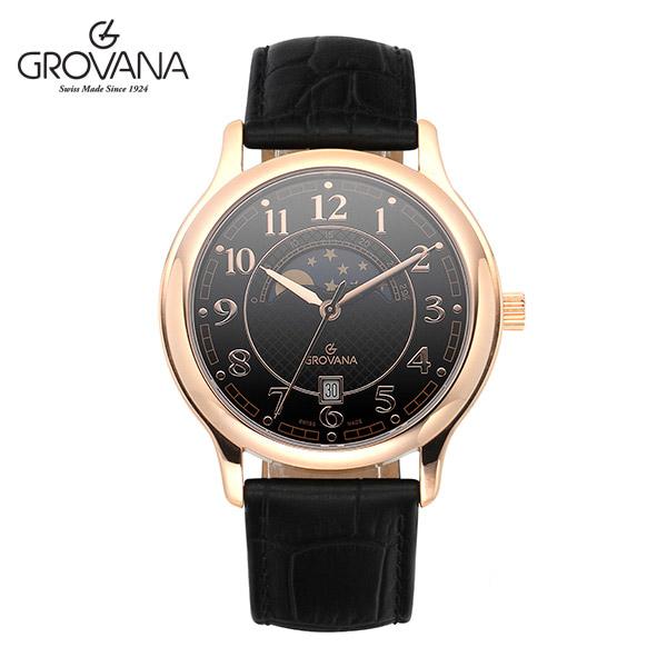 [그로바나시계 GROVANA] 1026.1567 / 남성시계 39mm ( 커플시계 구매시 사은품증정 )