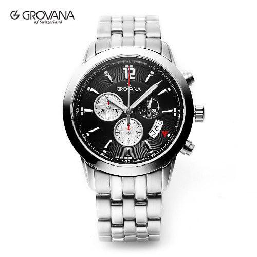 [그로바나시계 GROVANA] 1567.9137 / 남성시계 43mm ( 커플시계 구매시 사은품증정 )