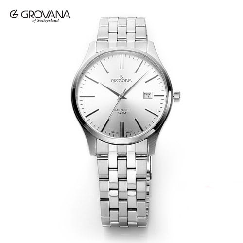[그로바나시계 GROVANA] 1568.1132 / 남성시계 커플시계 40mm ( 커플시계 구매시 사은품증정 )