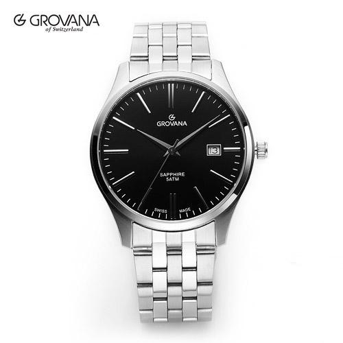 [그로바나시계 GROVANA] 1568.1137 / 남성시계 커플시계 40mm ( 커플시계 구매시 사은품증정 )