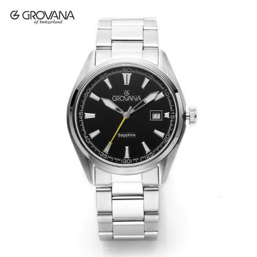 [그로바나시계 GROVANA] 1584.1138 / 남성시계 41mm ( 커플시계 구매시 사은품증정 )