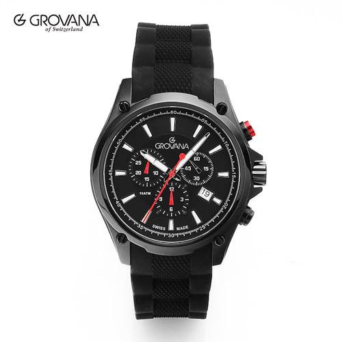 [그로바나시계 GROVANA] 1635.9877 / 남성시계 43mm ( 커플시계 구매시 사은품증정 )