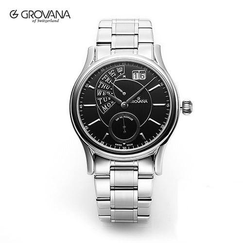 [그로바나시계 GROVANA] 1718.1137 / 남성시계 40mm ( 커플시계 구매시 사은품증정 )