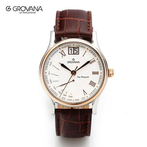 [그로바나시계 GROVANA] 1729.1552 / 남성시계 40mm ( 커플시계 구매시 사은품증정 )