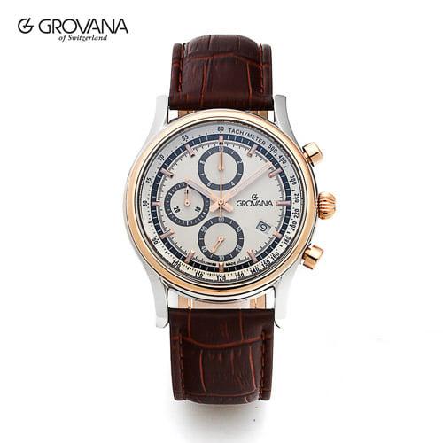 [그로바나시계 GROVANA] 1730.9552 / 남성시계 39mm ( 커플시계 구매시 사은품증정 )