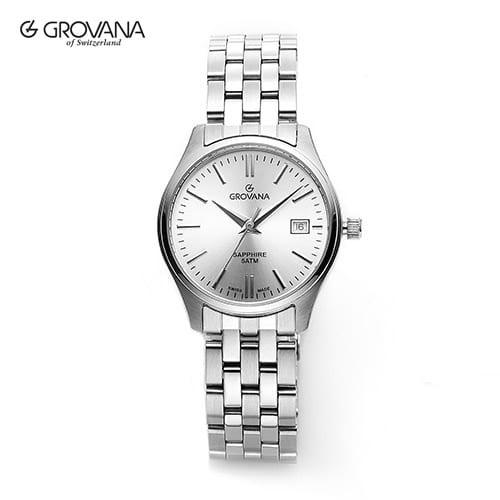 [그로바나시계 GROVANA] 5568.1132 / 여성시계 커플시계 27mm ( 커플시계 구매시 사은품증정 )