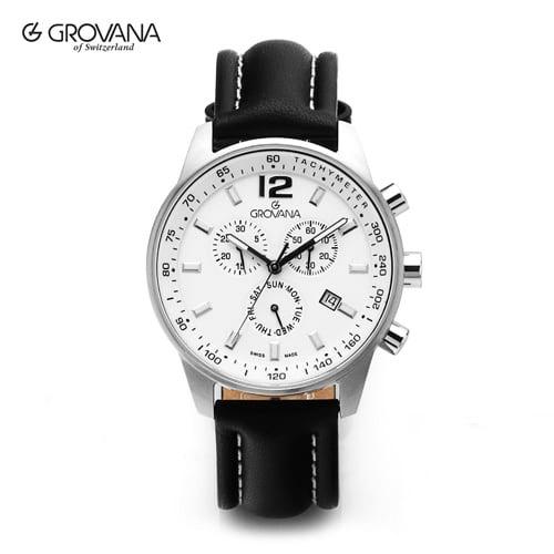 5월-) [그로바나시계 GROVANA] 7015.9533 / 남성시계 41mm ( 커플시계 구매시 사은품증정 )